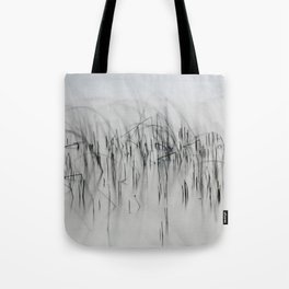 Evening Music - Calm and Peaceful Grasses Tote Bag