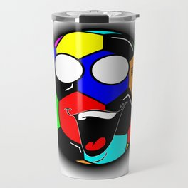 Ball Is Life 3 Travel Mug