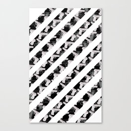 Gun Stripes Canvas Print