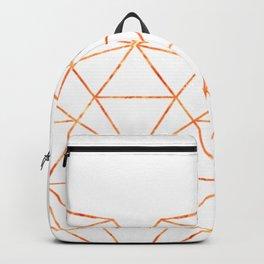 COPPER HEART (WHITE) Backpack