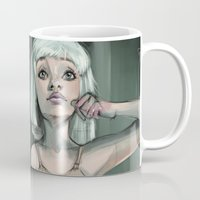 chandelier Mugs featuring Chandelier  by Art of Sarah Torelli