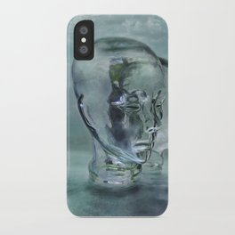 Glasmensch im Internet iPhone Case
