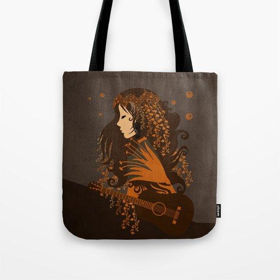 Mujer floral II Tote Bag