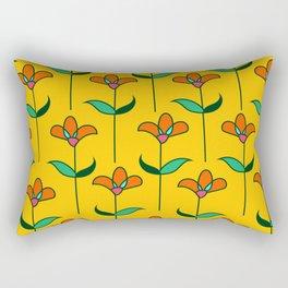 Genevieve - Yellow Rectangular Pillow