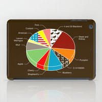 pie iPad Cases featuring Pie Chart by Graham Dobson