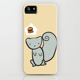 A Hungry Squirrel iPhone Case