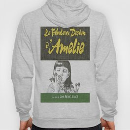 AMELIE hand drawn movie poster in pencil Hoody