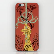 Ace of Swords iPhone & iPod Skin