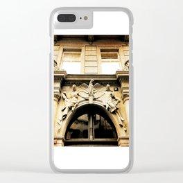 Art Nouveau in Prague Clear iPhone Case