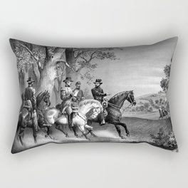 The Surrender Of General Lee Rectangular Pillow