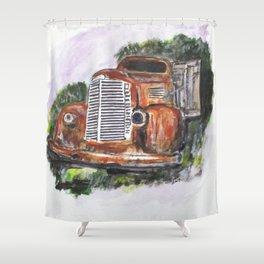 Abandoned Long Haul Shower Curtain