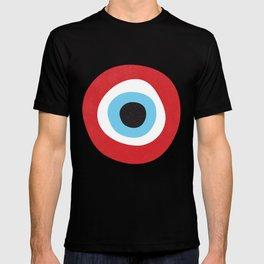 Red Evil Eye Symbol T-shirt