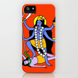 Kali Keith Haring style iPhone Case