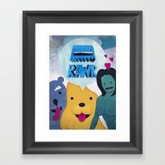 Rawr Returns! Framed Art Print