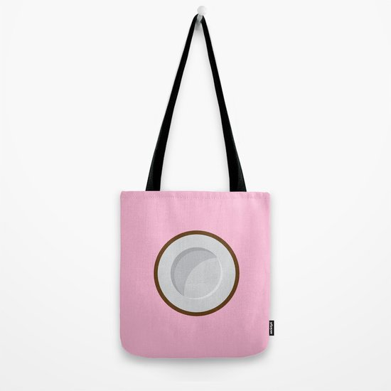 Coconut print Tote Bag