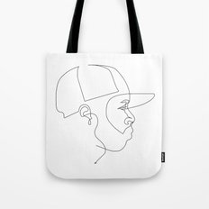 One Line For Dilla Tote Bag