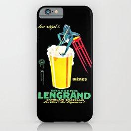 Brasserie Lengrand iPhone Case
