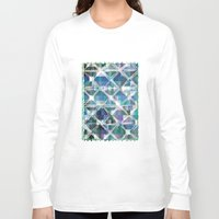 grid Long Sleeve T-shirts featuring The Grid by mimulux