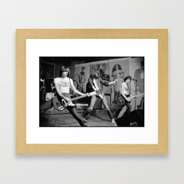 RAMONES Framed Art Print