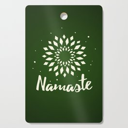 Namaste Mandala Flower Power Cutting Board