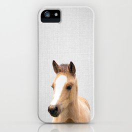 Baby Horse - Colorful iPhone Case