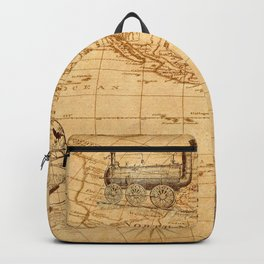 Vintage Map of America Backpack