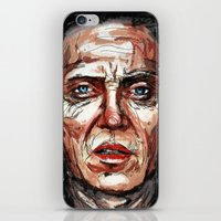 christopher walken iPhone & iPod Skins featuring Walken by Dnzsea