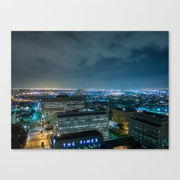 The Times Canvas Print