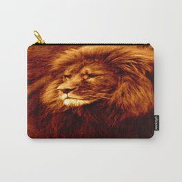 lion Golden Carry-All Pouch