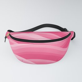 Wavy - Pink Fanny Pack