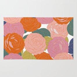 Flowers In Full Bloom Rug