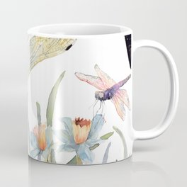 Good Night Surreal Dragonfly Artwork Coffee Mug