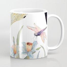 Good Night Surreal Dragonfly Artwork Coffee Mug