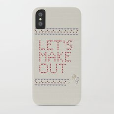 Let's make out iPhone X Slim Case