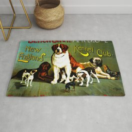 New England Dog Show 1890 Rug