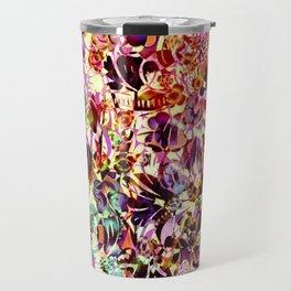 joyful abstract floral Travel Mug