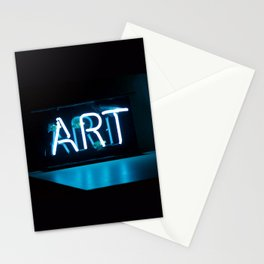 Art Neon Stationery Cards