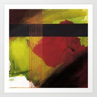 greenblack Art Print