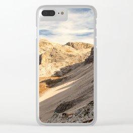 Autumn trekking in the alpine Pusteria valley Clear iPhone Case