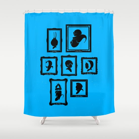 Stage Select Shower Curtain