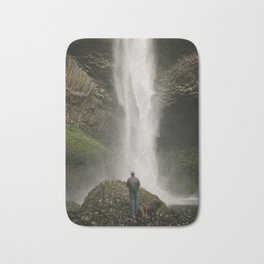 Latourell Falls // Columbia River Gorge, Oregon Bath Mat