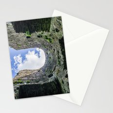 Castle Walls and Clouds Stationery Cards