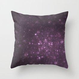 Purple Galaxy of Sir Douglas Fresh Throw Pillow