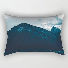 Mountain View by the Lake #1 #art #society6 Rectangular Pillow