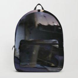 Reflections on brand new gondola windows Backpack