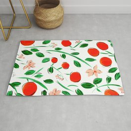 Orange Blossom Rug