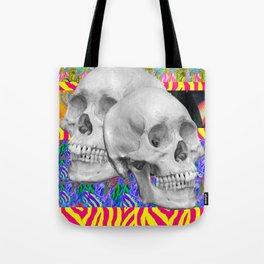 Skull Skull  Tote Bag