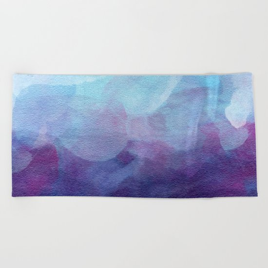 Aquarelle Beach Towel