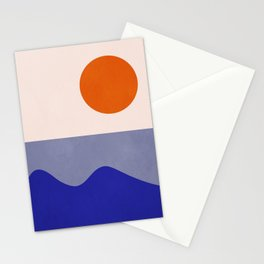 abstract minimal 50 Stationery Cards