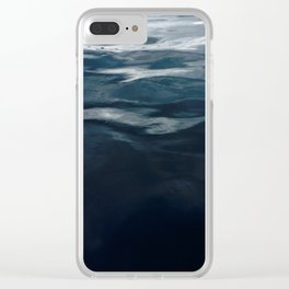Water Waves Clear iPhone Case
